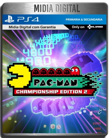 Pac Man championship edition 2 - Ps4 Psn - Midia Digital Primária