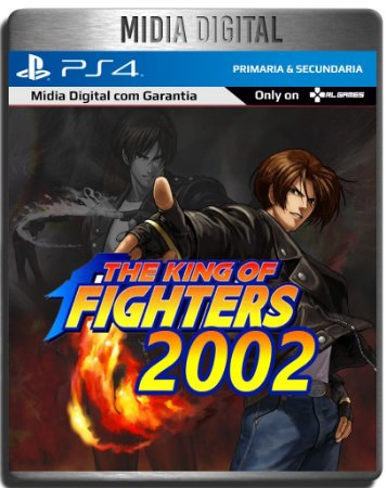 The King Of Fighters 2002 Kof 2002 - PS4 Primária - Mídia Digital