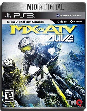 MX vs ATV Alive - Ps3 Psn - Mídia Digital