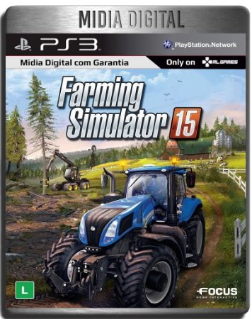 Farming Simulator 15 - Ps3 Psn - Mídia Digital