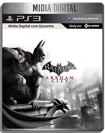Batman Arkham City - Ps3 Psn - Mídia Digital