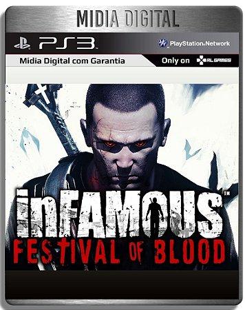 inFAMOUS Festival of Blood - Ps3 Psn - Mídia Digital