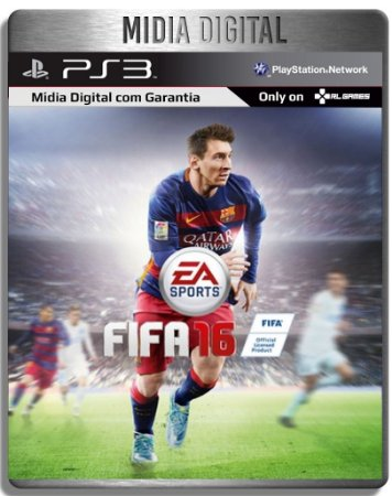 FIFA 16 - Ps3 Psn - Mídia Digital
