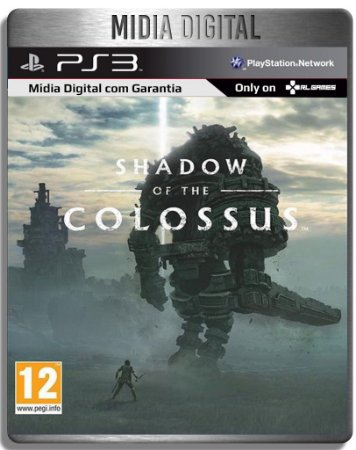 Shadow of The Colossus - Ps3 Psn - Mídia Digital