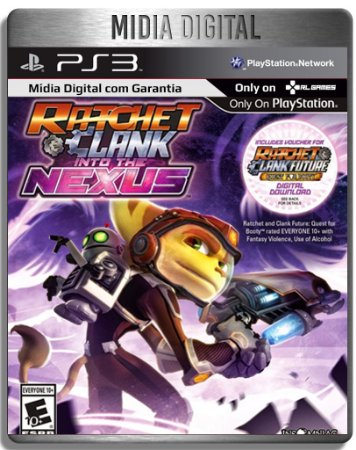 Ratchet And Clank Into The Nexus & Quest for Booty 2 Games - Ps3 Psn - Mídia Digital