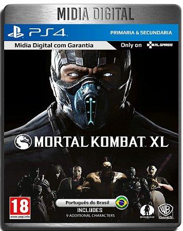Mortal Kombat XL - Mk Xl - Ps4 - Midia Digital Primária