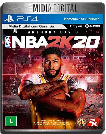 NBA 2K20 - Ps4 Psn - Mídia Digital Primária