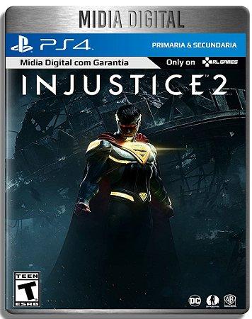 Injustice 2 - Ps4 Psn - Mídia Digital Primária