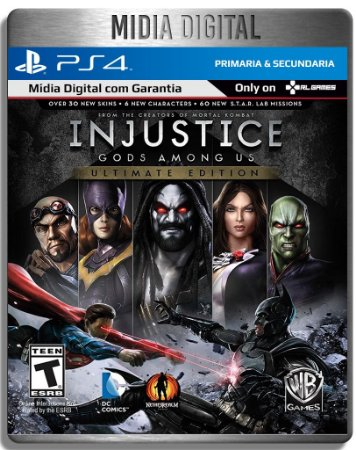 Injustice: Gods Among Us Ultimate Edition - Ps4 Psn Primaria - Mídia Digital