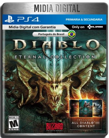 Diablo III Eternal Collection - Ps4 Psn - Mídia Digital Primária