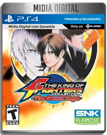 The King Of Fighters Collection: The Orochi Saga 5 Jogos - Ps4 Psn - Mídia Digital Primaria