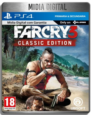 Far Cry 3 Classic - Ps4 Psn - Mídia Digital Primaria