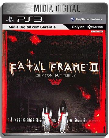 Fatal Frame II: Crimson Butterfly - Ps3 Psn - Mídia Digital