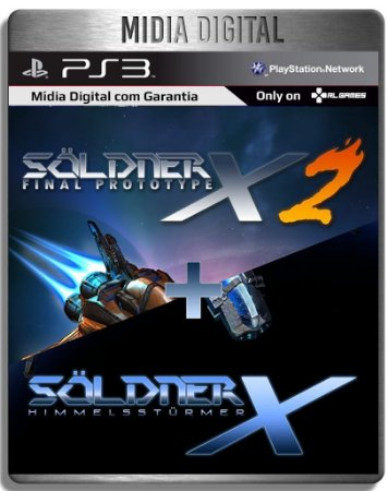 SOLDNER-X 2: FINAL PROTOTYPE + SOLDNER-X: HIMMELSSTURMER - Ps3 Psn - Mídia Digital