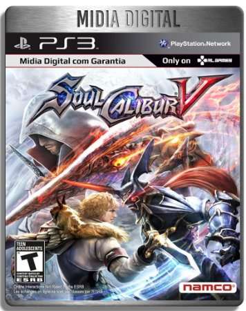 SoulCalibur V - Ps3 Psn - Mídia Digital