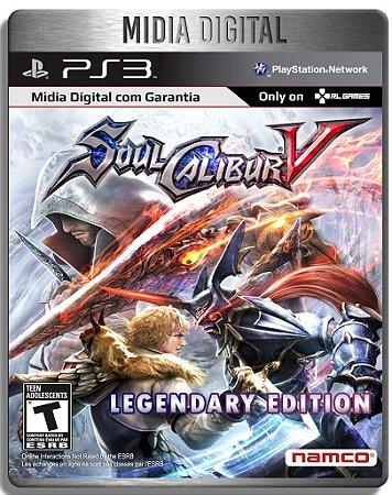 SoulCalibur V Edição Lendaria Legendary Edition - Ps3 Psn - Mídia Digital