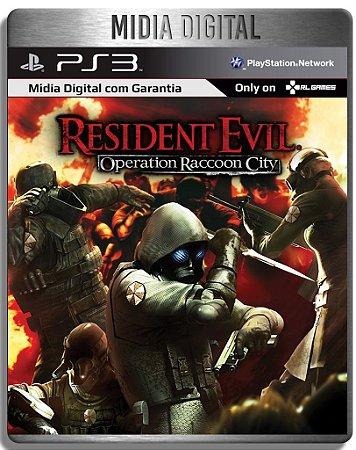 Resident Evil Operation Raccon City - Ps3 Psn - Mídia Digital