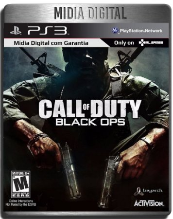 Call of Duty Black Ops + DLC First Strike - Mídia Digital Ps3 Psn