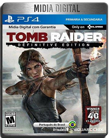 Tomb Raider Definitive Edition - Ps4 Psn - Mídia Digital Primária