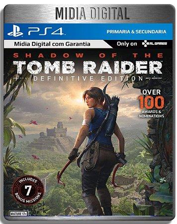 Shadow of The Tomb Raider Definitive Edition - Ps4 Psn - Mídia Digital Primária