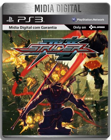 Strider - Ps3 Psn - Mídia Digital