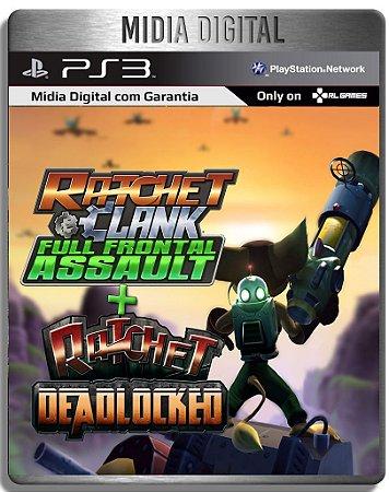 Ratchet And Clank Full Front Assault + Deadlocked - Ps3 Psn - Mídia Digital