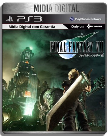 Final Fantasy VII 7 Classico - Ps3 Psn - Mídia Digital