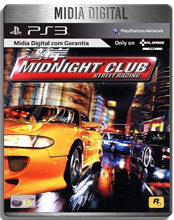Midnight Club Street Racing - PS2 Classico - Ps3 Psn - Mídia Digital