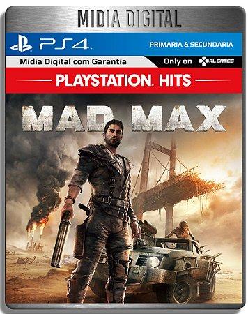 MAD MAX - Ps4 Psn - Mídia Digital Primaria