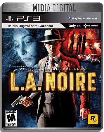 LA Noire - Ps3 Psn - Mídia Digital