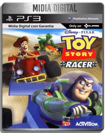 Toy Story Racer Classico de PS1 - Ps3 Psn - Mídia Digital