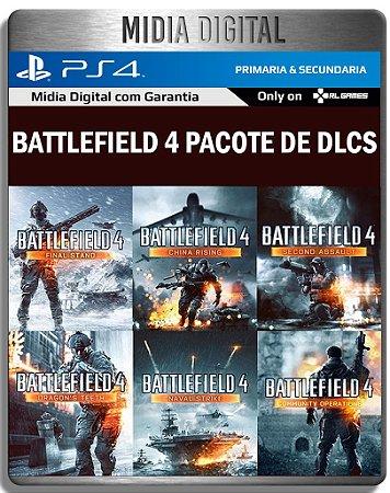 Pacote de DLCS Battlefield 4 - Ps4 Psn - Mídia Digital Primaria