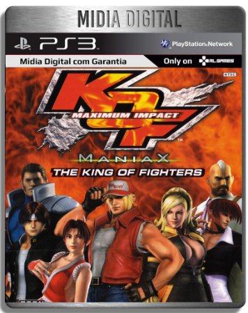 The King of Fighters Maximum Impact Maniax - Ps3 Psn - Mídia Digital