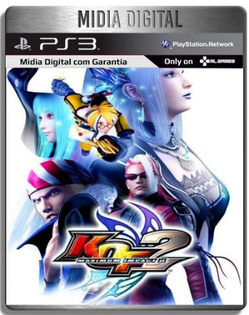 The King of Fighters Maximum Impact 2 - Ps3 Psn - Mídia Digital