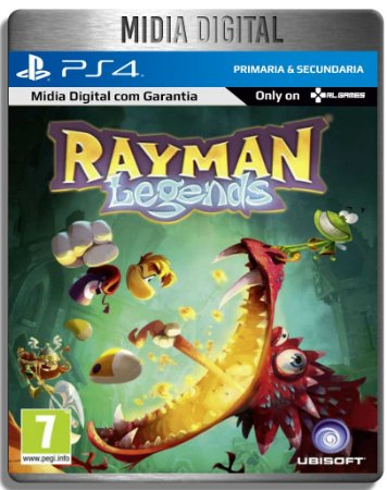 Rayman Legends - Ps4 Psn - Mídia Digital Primaria