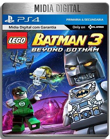 Lego Batman 3 Além de Gotham - Ps4 Psn - Mídia Digital Primaria