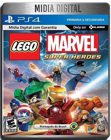 LEGO Marvel Super Heroes - Ps4 Psn - Mídia Digital