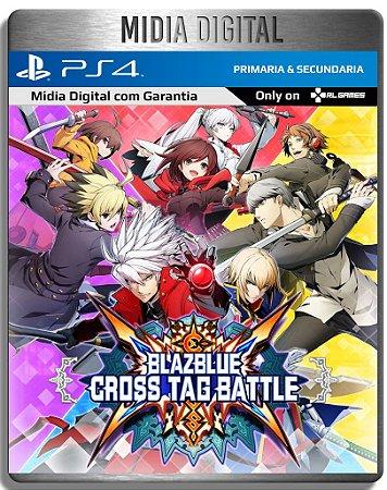 Blazblue Cross Tag Battle - Ps4 Psn - Mídia Digital Primaria