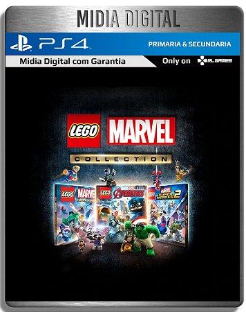 Coleção LEGO Marvel 3 Jogos - Ps4 Psn - Mídia Digital Primaria