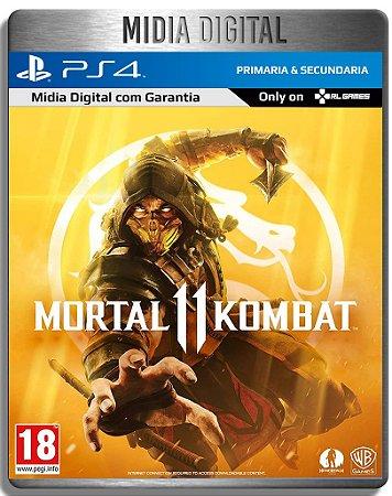 Mortal Kombat 11 - Ps4 Psn - Mídia Digital Primaria