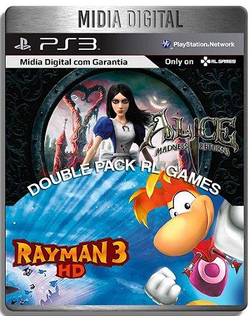 Alice madness returns Ultimate + Rayman 3 hd - Ps3 Psn - Mídia Digital