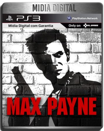 Max Payne 1 - Ps2 Classic - Ps3 Psn Mídia Digital