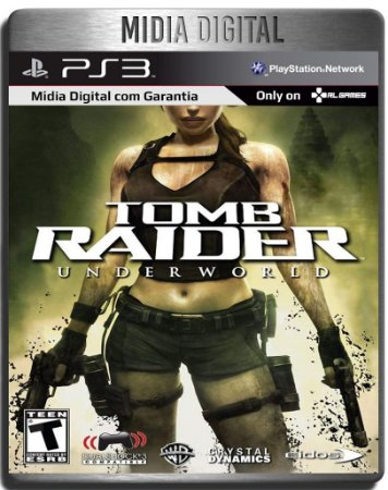 Tomb Raider Underworld - Ps3 Psn - Mídia Digital