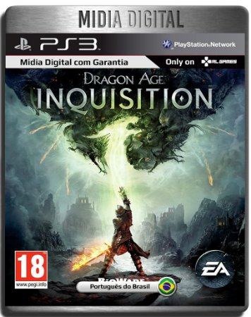 Dragon Age Inquisition - Ps3 Psn - Mídia Digital