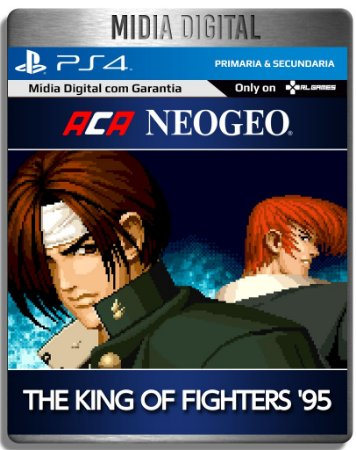 Aca Neogeo The King of Fighters 95 - Ps4 Psn - Mídia Digital Primaria
