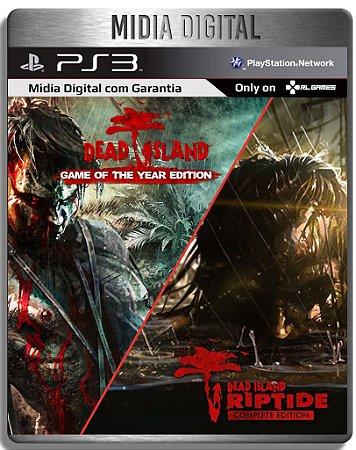 Dead Island Franchise Pack - 2 Jogos + Dlcs - Ps3 Psn - Mídia Digital
