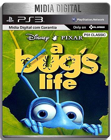 A Bug's Life Vida de Inseto Classico PS1 - Ps3 Psn - Mídia Digital