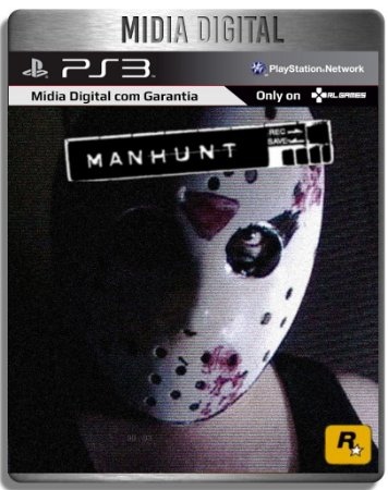 MANHUNT - Ps3 Psn - Mídia Digital