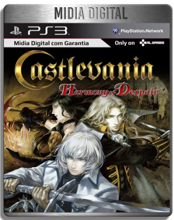 Castlevania Harmony of Despair - Ps3 Psn - Mídia Digital