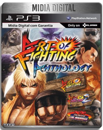 Art of Fighting Anthology - Ps3 Psn - Mídia Digital